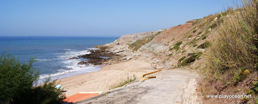 Access to Praia de São Bernardino Beach
