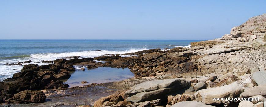 Poça na Praia de São Bernardino