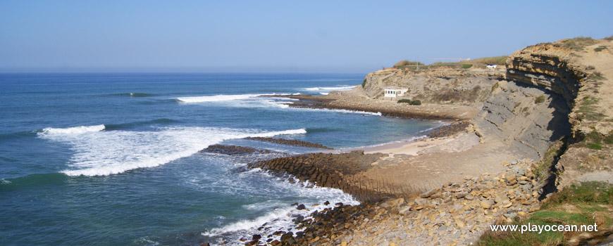 North at Praia de São Marcos Beach