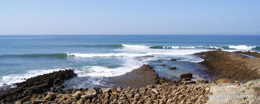 Mar na Praia de São Marcos