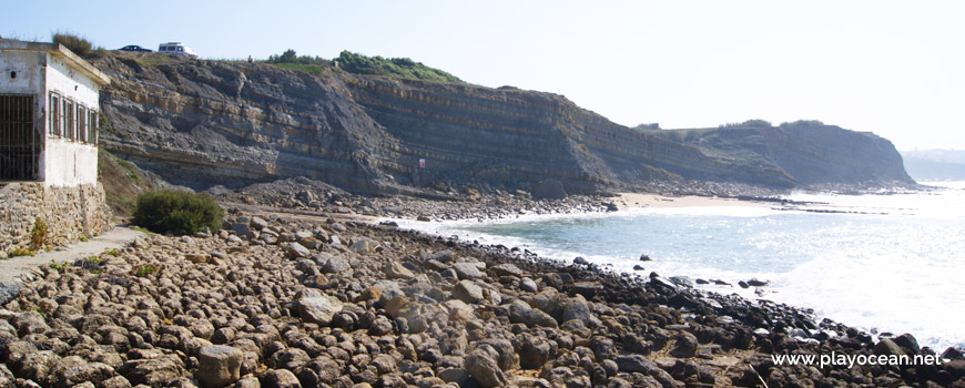 Cliff at Praia de São Marcos Beach