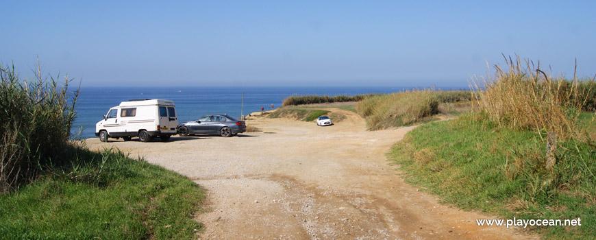 Parking at Praia de São Marcos Beach