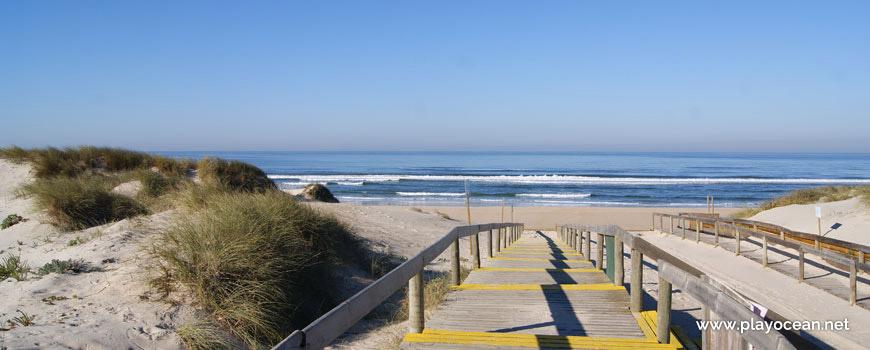 Acesso à Praia do Osso da Baleia