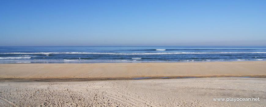 Mar na Praia do Osso da Baleia