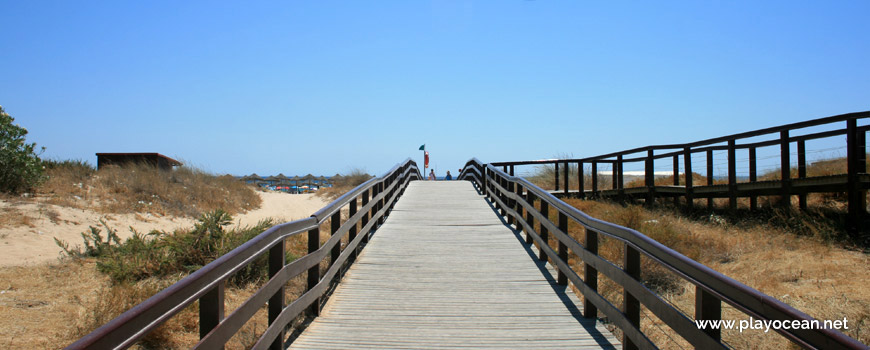 Access to Praia do Alvor (East) Beach