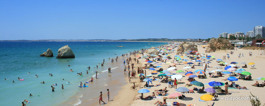 West at Praia do Alvor (East) Beach