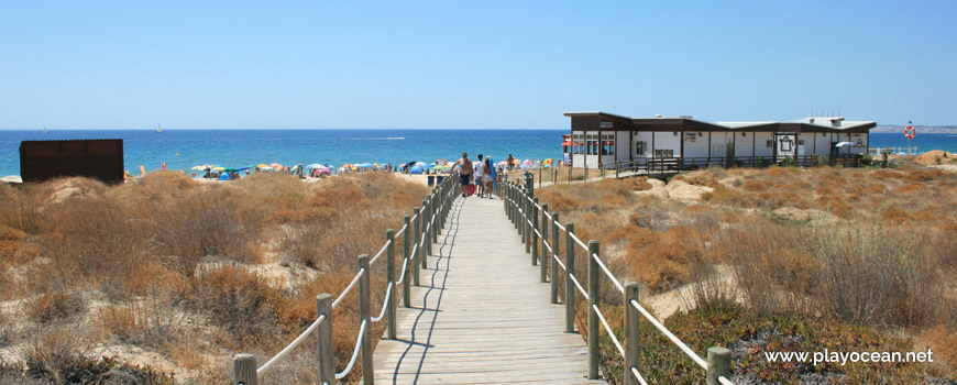 Walkway at Praia do Alvor (East) Beach