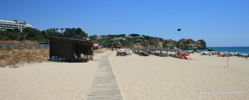 Bar at Praia do Alvor (East) Beach