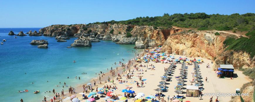 West part of Praia do Barranco das Canas Beach