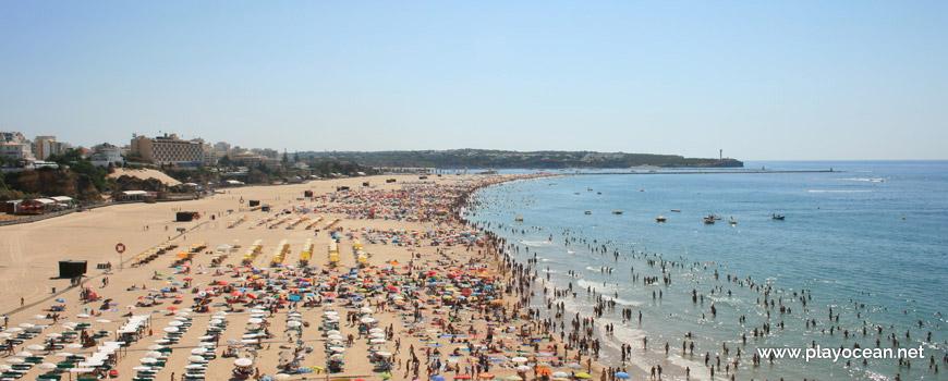 Areal, Praia da Rocha