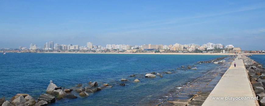 Panorâmica da Praia da Rocha
