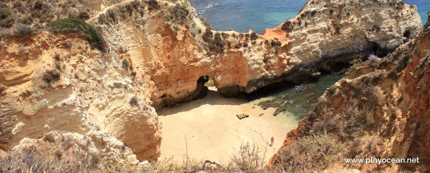 Sand at Praia do Valentim de Carvalho Beach