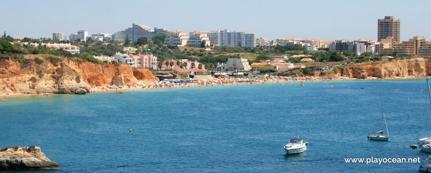 Panoramic of Praia do Vau Beach