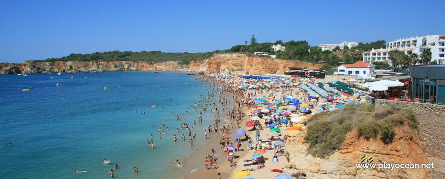 West at Praia do Vau Beach