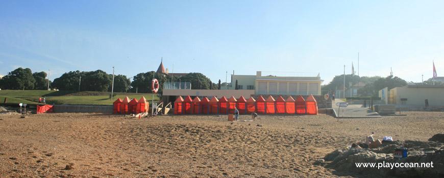 Barracas na Praia do Homem do Leme