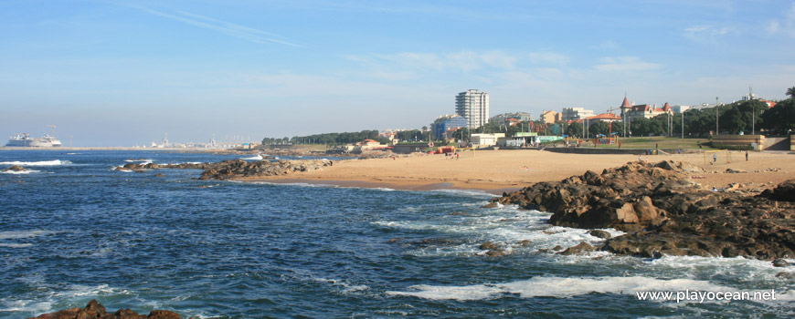 Panoramic of Praia do Homem do Leme Beach