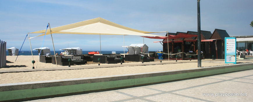 Bar at Praia do Carvalhido Beach