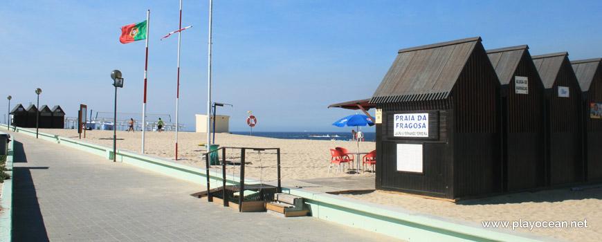Entrada, Praia da Fragosa