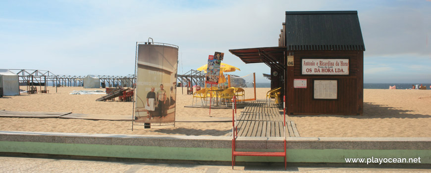 Entrance to Praia do Loulé Beach