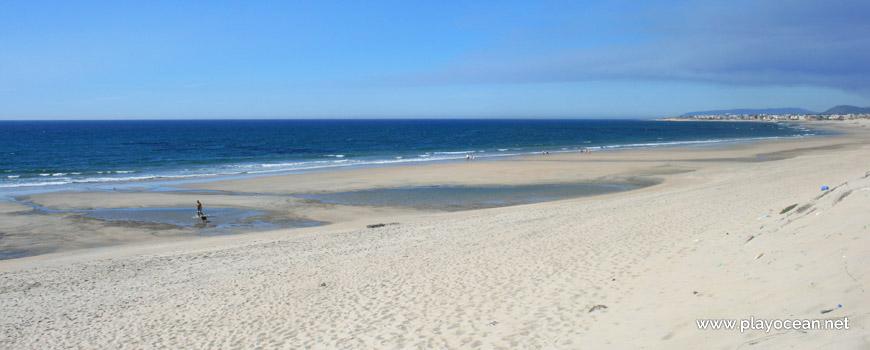 Maré baixa, Praia do Parque de Campismo