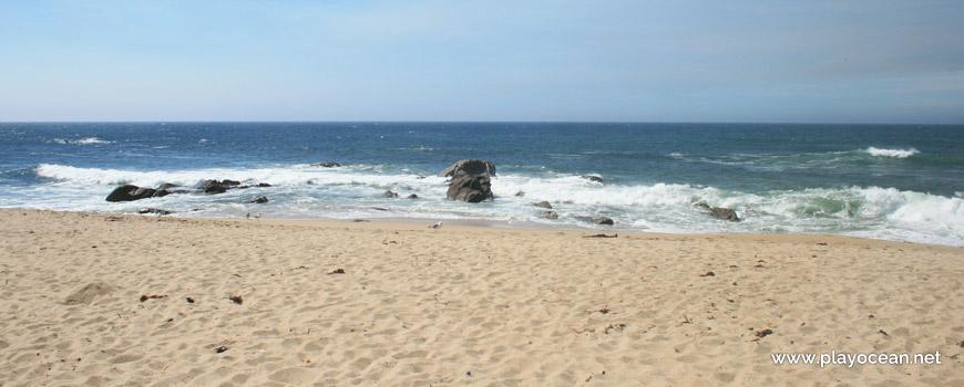 Sea at Praia Redonda Beach