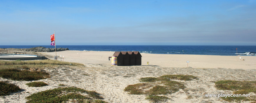 Praia de Santo André Beach