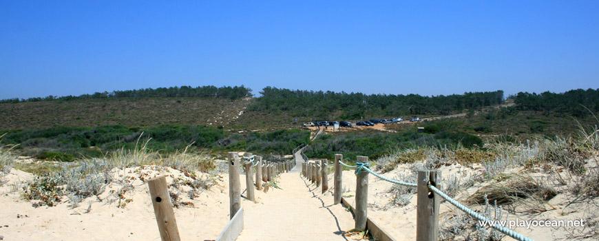 Parque de estacionamento Praia do Monte Velho