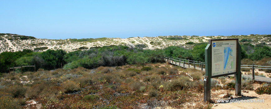 Acesso Praia do Monte Velho