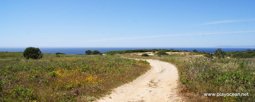 Acesso à Praia do Areia do Mastro