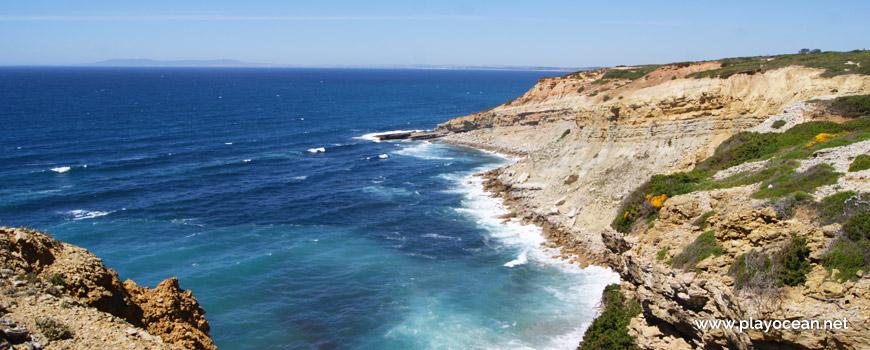 Mar na Praia do Areia do Mastro