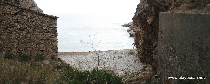 Retaguarda da Praia da Baleeira