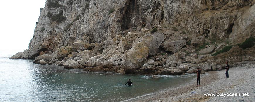 Rochedo Oeste da Praia da Baleeira