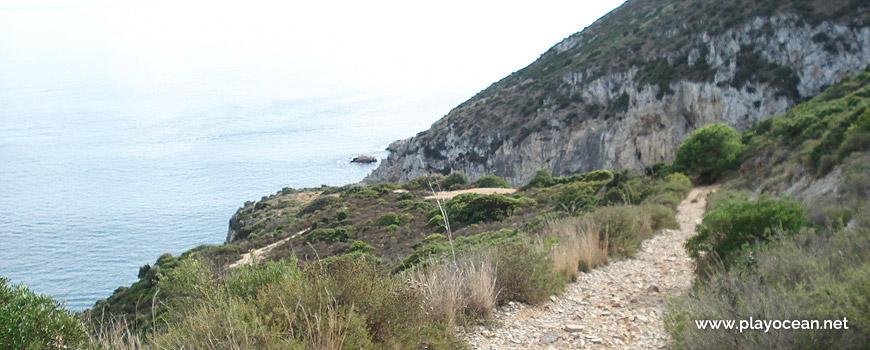 Trilho para a Praia da Baleeira