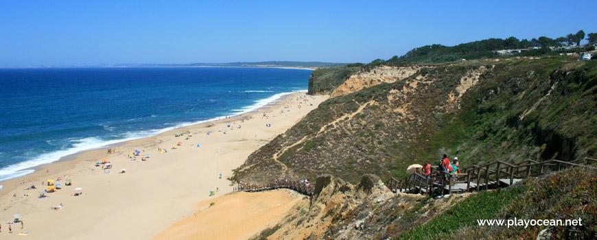 Norte da Praia das Bicas