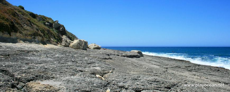 Laje rochosa da Praia da Foz