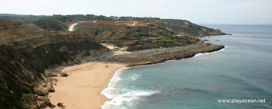 Panoramic view, Praia da Foz Beach