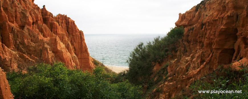 Trilho para a Praia do Galherão