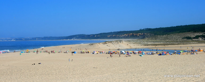 Dune of Praia da Lagoa de Albufeira (Sea) Beach