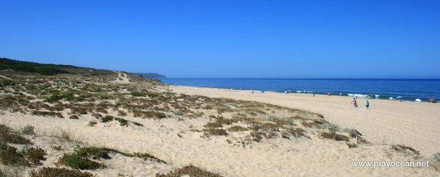Sul da Praia da Lagoa de Albufeira (Mar)