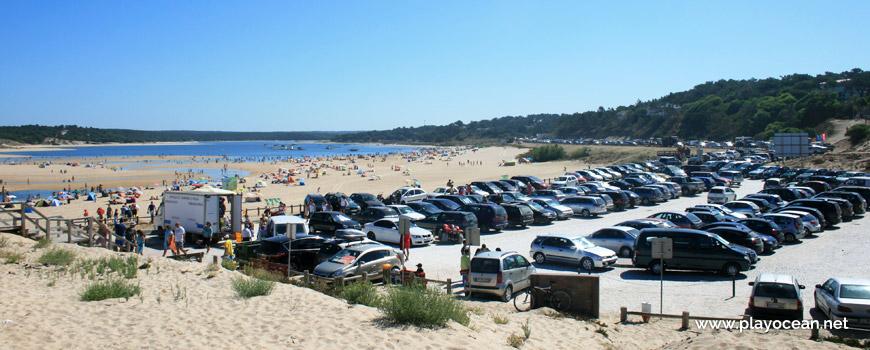 Estacionamento da Praia da Lagoa de Albufeira