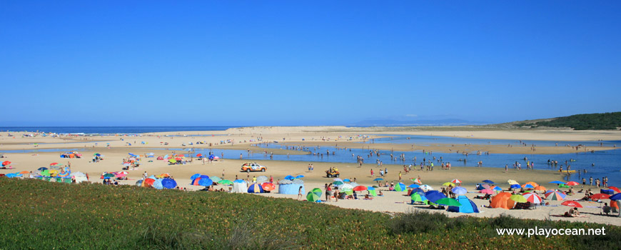 Noroeste da Praia da Lagoa de Albufeira (Rio)