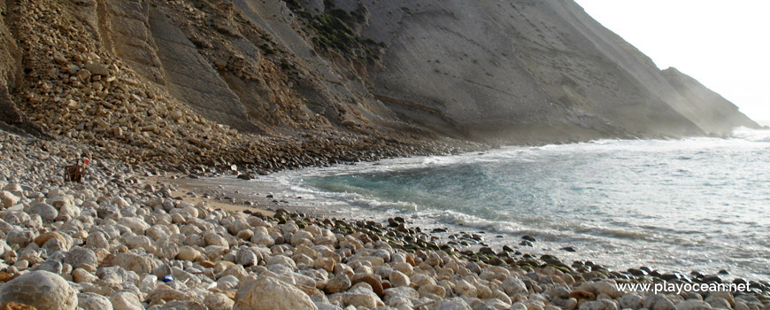 Calhaus rolados da Praia dos Lagosteiros