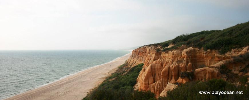 Norte, Arriba Fóssil da Costa da Caparica