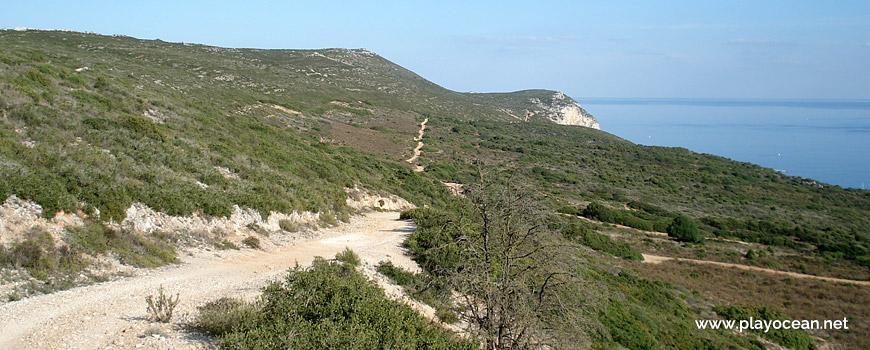 Trilho para a Praia da Mijona