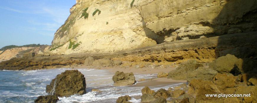 Parede da falésia da Praia da Pipa