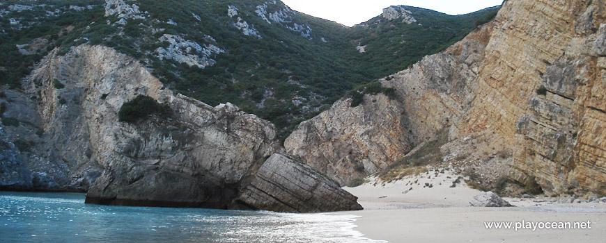 Falésias da Praia da Ribeira do Cavalo