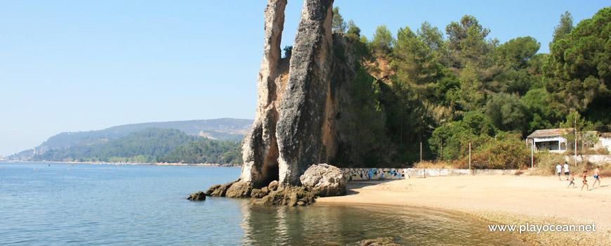 Rocha grande, Praia de Albarquel