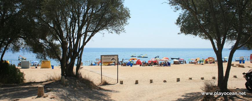 Entrada, Praia do Creiro