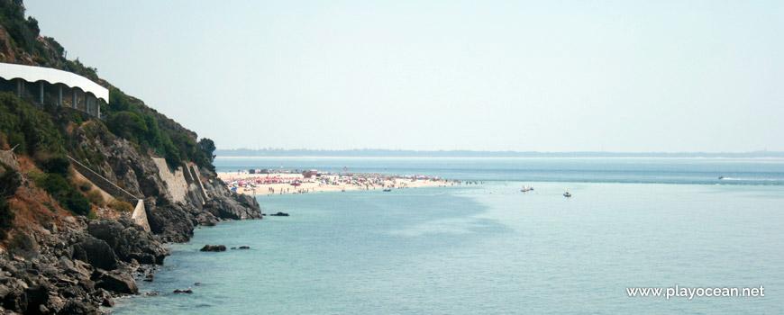 Panorâmica da Praia da Figueirinha