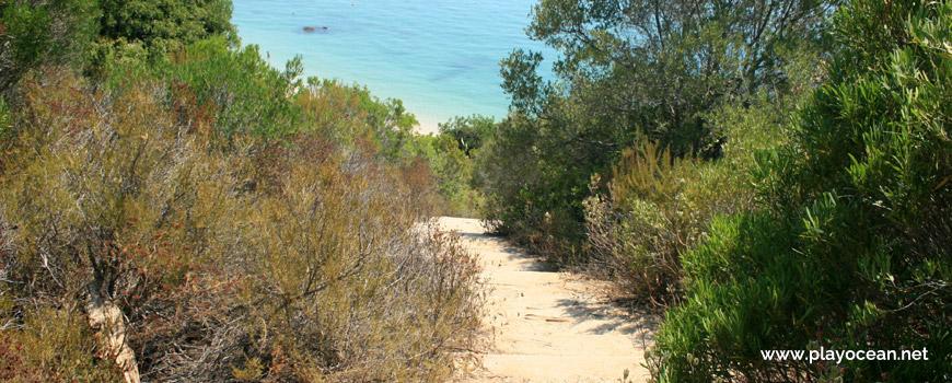 Acesso à Praia dos Galapinhos